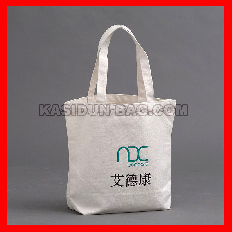 (500Pcs/Lot) Size 32X38x10cm(12.8X15.2X4&Quot;) Custom Logo Canvas Cotton Shopping Tote Bag