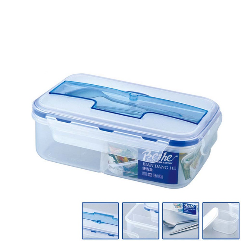 Hoomall Microwaveable Plastic Lunch Boxes 5