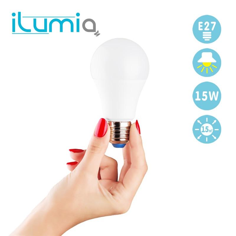 ILUMIA A65 base E 27 led environmental smart energy saving light Bubble bulb analogue glow-lamp 125W 3000K 1500Lm safe for home