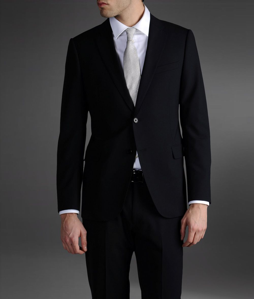 Men Fashion Suit For Wedding Business 2015 Button Slim Fit Men