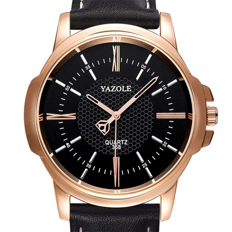 YAZOLE Business Watch Men Famous Brand Quartz Wristwatches New Wrist Watches For Men Clock Male Hours Hodinky Man Relog Ceasuri цена