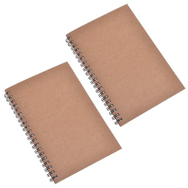 Juego De 2 Cuadernos De Bocetos Universales De Papel Duradero