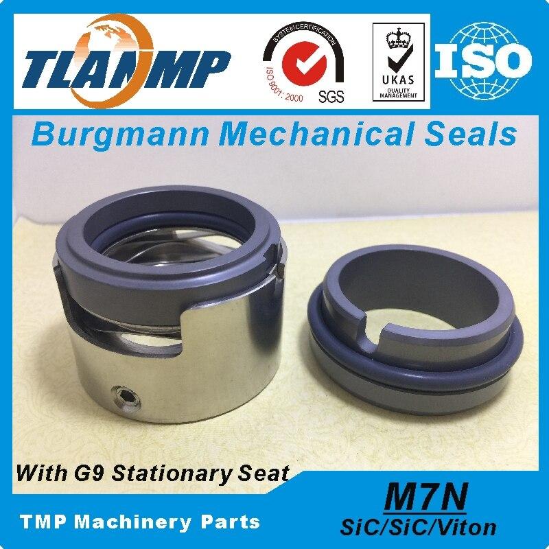 M7N-45 M7N/45-G9 M7N-45/G9  Burgmann Mechanical Seals For Water pump with G9 Stationary seat (Material:SIC/SIC/VITON)M7N-45 M7N/45-G9 M7N-45/G9  Burgmann Mechanical Seals For Water pump with G9 Stationary seat (Material:SIC/SIC/VITON)