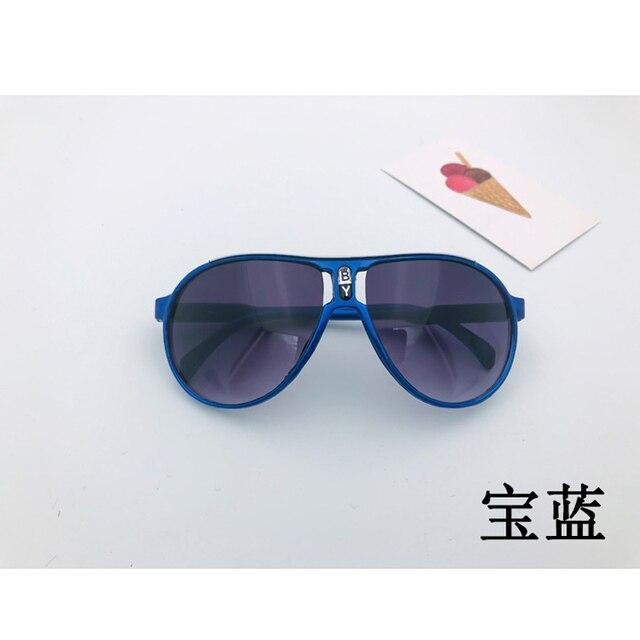Kids Sunglasses Fashion Brand Children Sports Sun Glasses Anti-uv Baby Sun-shading Eyeglasses Girl Boy Sunglass UV400