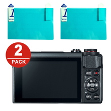 2x LCD Screen Protector Protection Film for Canon Powershot G7 X G7X Mark II G5X G9X G1X III EOS R RP M5 M6 M50 M100 M3 M10 M2 M cheap NoEnName_Null To Fit G7XII Camera DEJ-LCP-G7XII