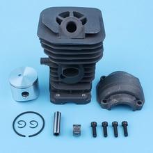 40mm Nikasil Cylinder Piston Engine Pan Screw For Husqvarna 142 137 141 41 Jonsered 2036 CS 2040 Chainsaw 530069941,530069414