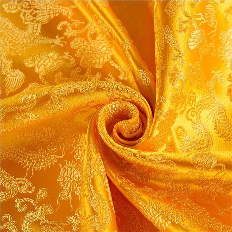 CF44 5 Yard 115 cm large Jacquard brocart tissu chinois mode tissu mariage Cheongsam Qipao tissu Cosplay tissu Antique