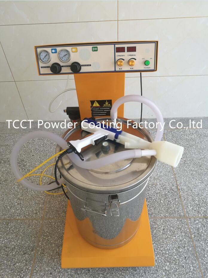 High quality Electrostatic Flocking Machine with foaming printing gun portable handy flocking machine electrostatic comfortable grip flock applicator advanced flocking kit y