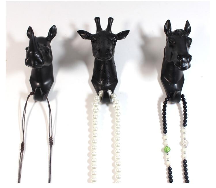 Вешалка для ключей roogo настенная вешалка в виде головы оленя