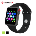 Hot lemfo lf07 smart watch phone support cartão sim bluetooth smart watch dispositivos wearable para a apple ios android os telefone