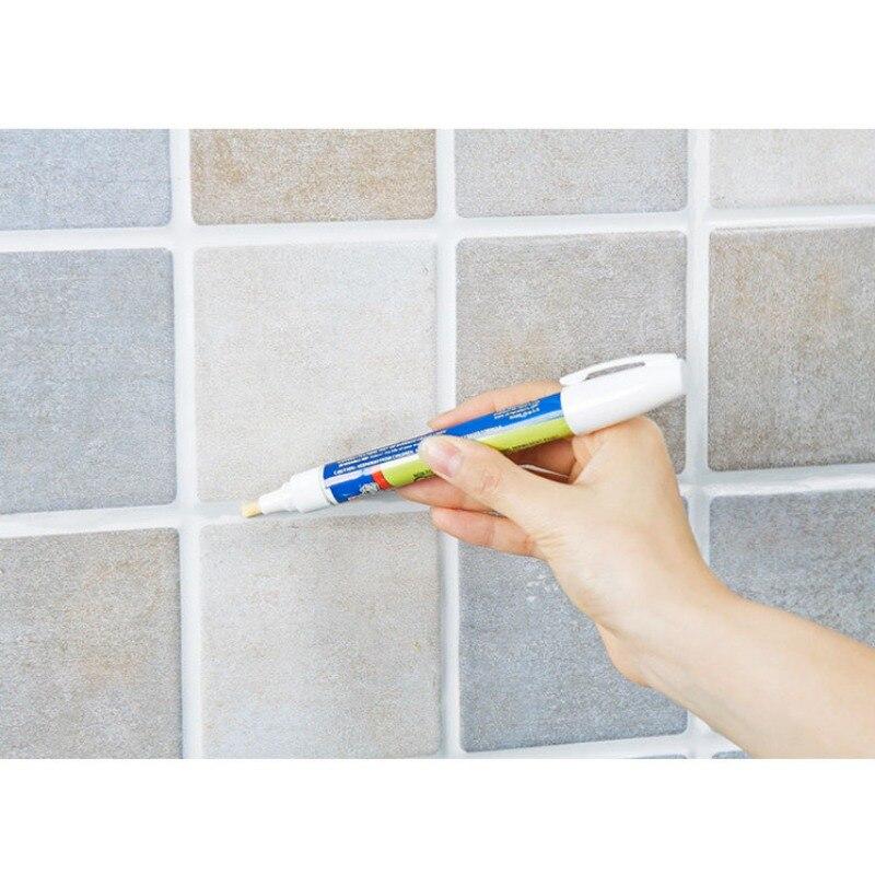 Grout Aide Repair Tile Marker Wall Pen Grey Color For Repair Ceramic