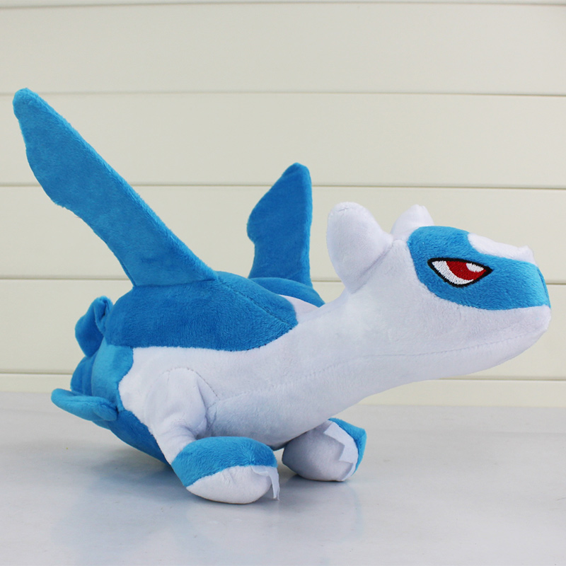 "New 12""30cm Latias Plush Toy Latios Soft Doll Gift for Children With Tag Free Shipping"