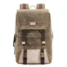 Waterproof Batik Canvas Camera Backpack Durable DSLR Bag fit for 15in Laptop Photographer Case for Canon Nikon Sony Lens Flash baodeli lens filtro close up macro filter concept 40 5 43 46 49 52 55 58 62 67 72 77 82 mm for canon dslr nikon sony accessories