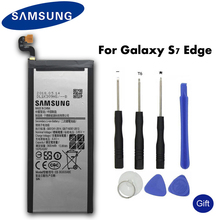 Original Samsung Spare Phone Battery EB-BG935ABE For Samsung GALAXY S7 Edge G9350 G935FD SM-G935F Authentic Battery 3600mAh cheap EB-BG935ABE S7 Edge 3501mAh-5000mAh