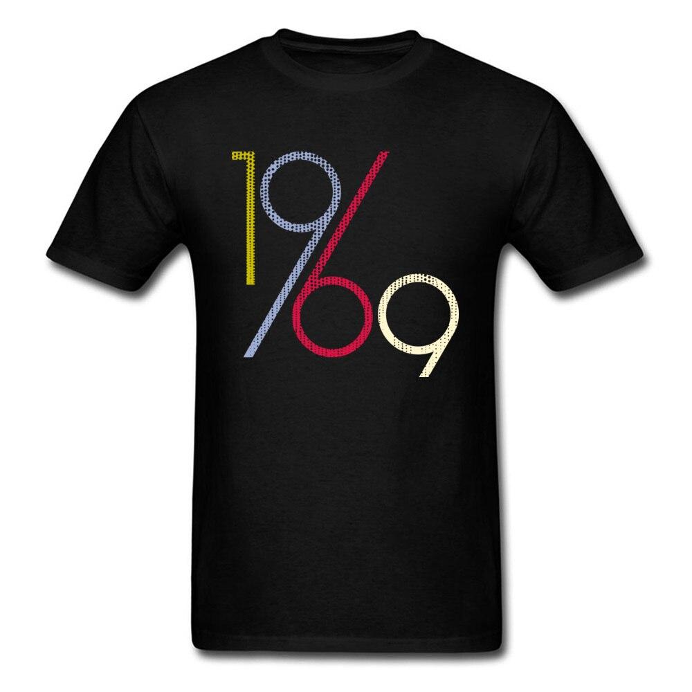 1969 In Vendita Personalizzato Magliette E Camicette Girocollo 100% Tessuto Di Cotone T Shirt A Manica Corta Per Gli Uomini Tee Camicette Estate Autunno Acquista Sempre Bene