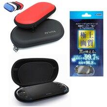 2in1 Screen Protector EVA Anti shock Hard Case Tas Voor Sony PSV 1000 GamePad Case Voor PSVita 2000 Slanke console PS Vita Draagtas
