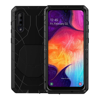 for Samsung Galaxy A50 A70 2019 Case Aluminum metal+silicon back Cover for Galaxy A70 Samsung A50 A 50 Coque