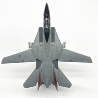 1:100 Scale airplane jet Model F14 F 14 Tomcat alloy metal hobby collection free shipping