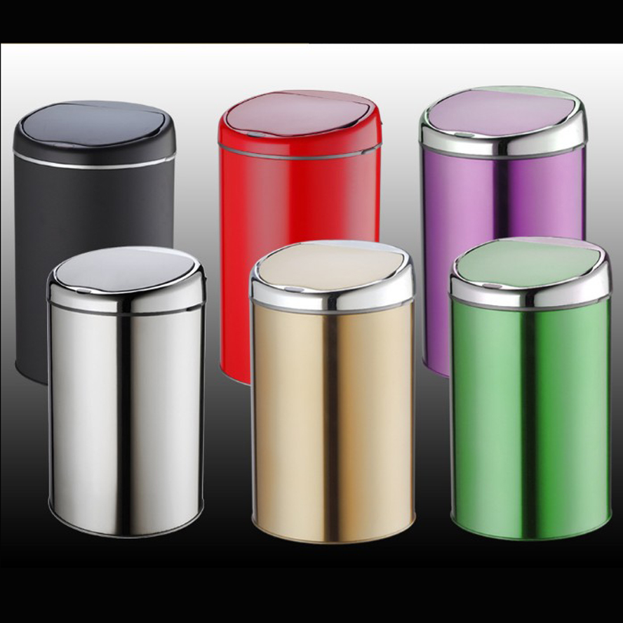 12l Sensor Trash Can No Touch Waste Bin