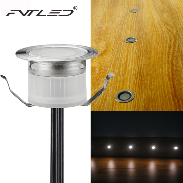 Fvtled 12v led deck lighting kit stainless steel waterproof outdoor fvtled 12v led deck lighting kit stainless steel waterproof outdoor landscape garden yard step lamp in mozeypictures Gallery