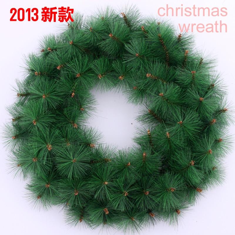 Christmas Tree Needles: Freeshipping Christmas Tree Pine Needles 50cm Solid Color