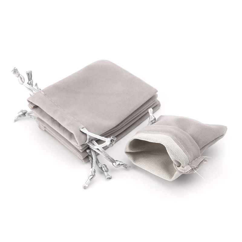 Sacos de veludo para cartas de tarô, 5 peças, armazenamento, joias, mini pacote de cordão, jogo de tabuleiro