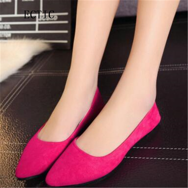 2017 Spring Summer Ladies Shoes Ballet Flats Women Flat Shoes Woman Ballerinas Black Large Size Casual Shoe Sapato Womens Loafer new 2015 fashion high quality lazy shoes women colorful flat shoes women s flats womens spring summer shoes size eu35 40wsh488