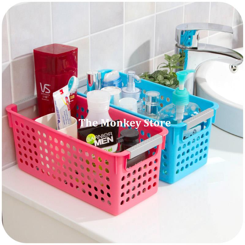 colorful thick rectangular plastic storage baskets kitchen. Black Bedroom Furniture Sets. Home Design Ideas