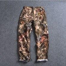 Новинка, мужские камуфляжные охотничьи брюки, уличные спортивные походные брюки, длинные штаны, большие размеры США 30-42