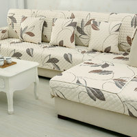 Printed Traditional Chinese Floral Combination Kit Sectional Sofa Sofa Cover