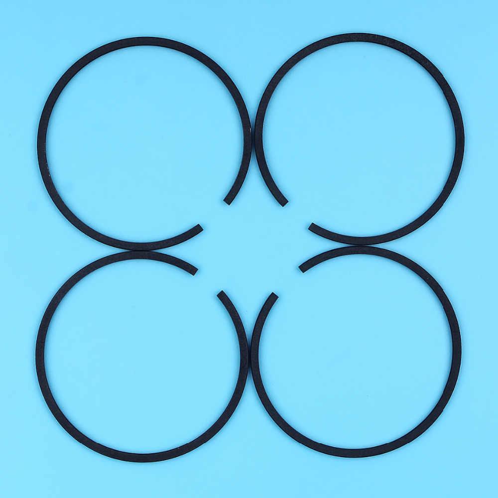 4 X ПОРШЕНЬ Кольца 50 мм x 1.5 мм для HUSQVARNA 268 268xp 268 К 66 266 371 372 Бензопилы запасные Запчасти