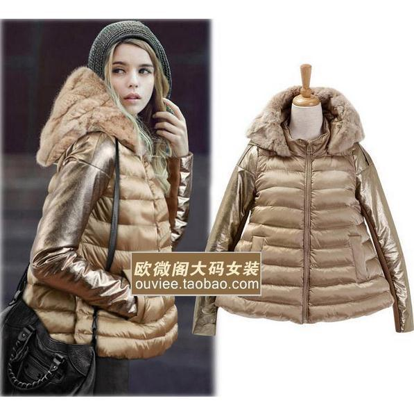 Plus Size S 2XL Fashionable Women Luxury Style Long Women s Winter Coat Parkas Ladies Fur