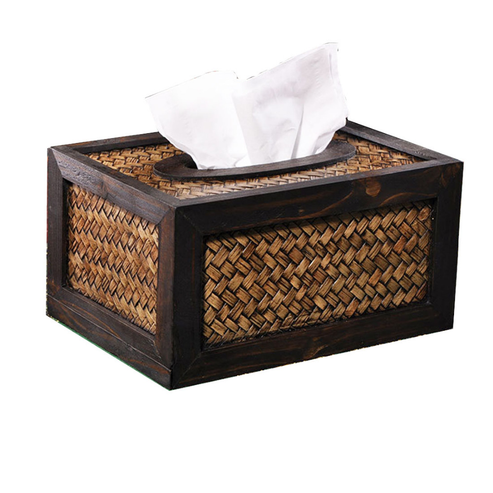 Visual Touch Bamboo Weaved Wood Frame Toilet Paper Holder Tissue Box Car  Covers Towels Case Household Bathroom Accessories Online Get Cheap Cover  Aliexpress ...