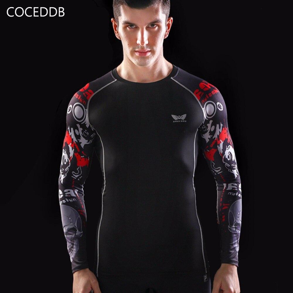 Camisas de compresión para hombre Piel ajustada térmica bajo mangas - Ropa de hombre - foto 3