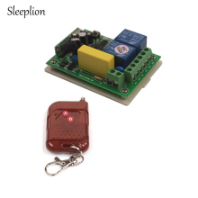 лучшая цена Sleeplion AC 220V 2 channel Wireless Switch 1 Receiver+1/2/3 Transmitter Remote Control