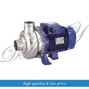 BK100-P 1hp Stainless steel centrifugal sewage pump image