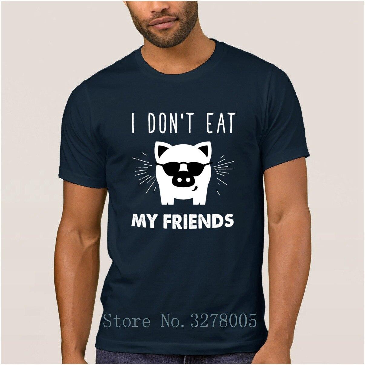 e758d7a9 Brand La Maxpa Build Your Own I Dont Eat My Friends Novelty Men's T Shirts  2018 T-Shirt Clothes Euro Size Tshirt Men