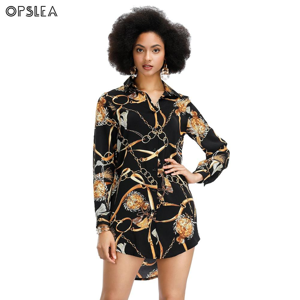 Opslea Dashiki African Women Sexy Slim Fit Dress 2019 New Fashion Casual Print Clothing African Nightclub Style One Piece Dress