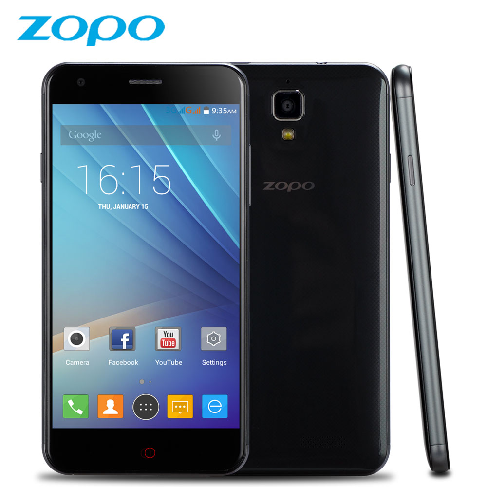 ZOPO ZP530 4G LTE Smartphone 5 inch MTK6732 Quad Core 1 5GHz 1GB RAM 8GB ROM