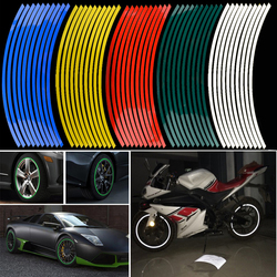 Newest 16 pcs strips wheel stickers and decals 14 17 18 reflective rim tape bike motorcycle.jpg 250x250