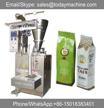 CE Approved Quad Seal Stand-up Bag Coffee Powder/Beans Gusset Vertical Packaging Machine