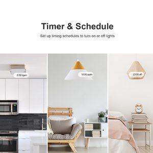Image 5 - Sonoff Draadloze Muur Touch Light Switch, nieuwe T1UK Wifi Timer 1/2/3 Gang Schakelaar Glazen Paneel App/Rf/Voice Afstandsbediening Tx Serie