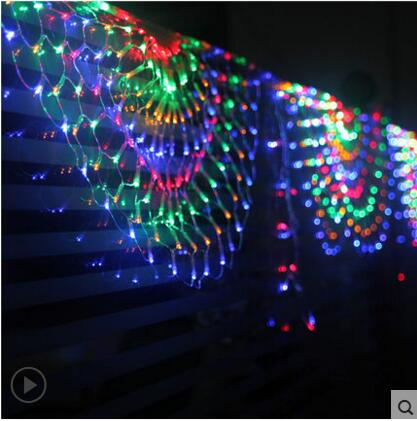New Year Garland LED Jullampor Outdoor Party Cristmas Decoration - Festlig belysning - Foto 4