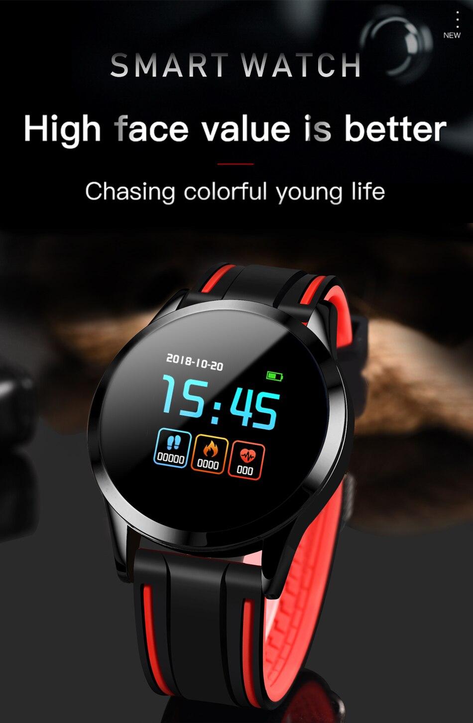 Hot Sale] LIGE Smart Watch Men Blood Pressure Waterproof
