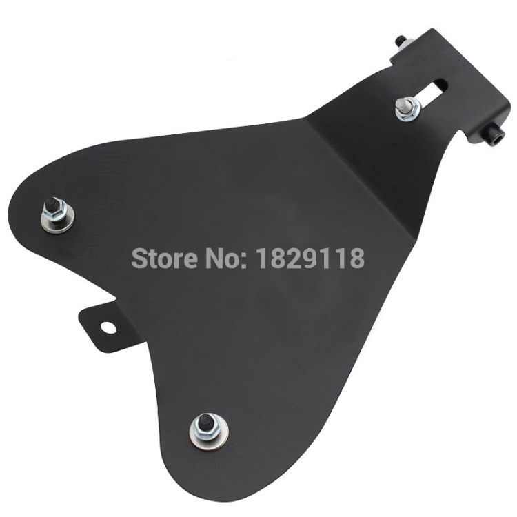 Steel Solo Seat Baseplate Driver Cushion Chassis Wire Cable Line Cover for Harley Sportster XL883 XL1200 48 2004-2006 2010-2015