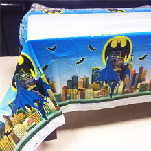 108cm*180cm Batman Birthday Party Decoration Kids Boys Event Supplies Table Cloth For Tablecloth