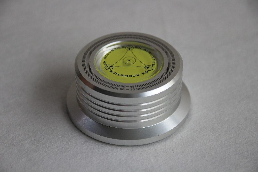 60 HZ 3 Dans 1 Fiche Clamp LP Stabilisateur de Disque Platine argent couleur