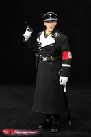 DID 3R GM634 World War II German Black Uniform Heydrich 1/6 Soldiers Action Figure Model Suits