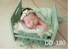 Dvotinst Newborn Photography Props Baby Retro Posing Bed Basket Bathtub Cribs Fotografia Accessories Studio Shoots Photo Prop
