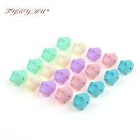 TYRY. HU 100 pc Porco Silicone Contas Acessórios Talão Para DIY Brinquedos de Dentição Enfermagem Dentição Do Bebê Silicone Beads Atacado